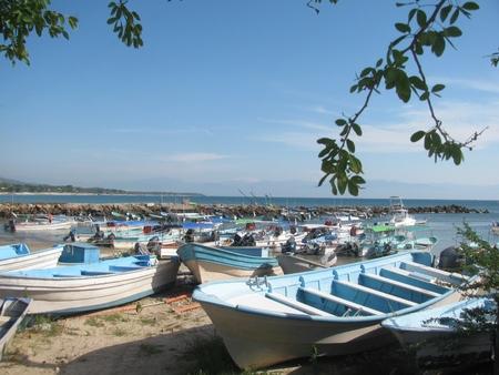 Boats in Punta Mita (Nayarit, Mexico) Imagens