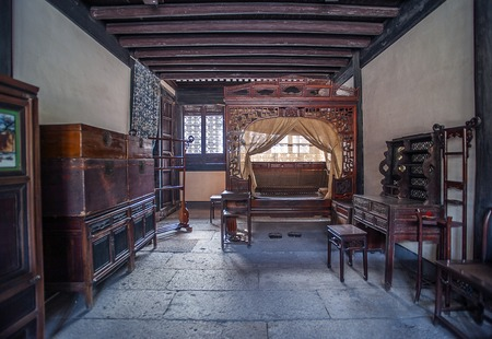 bric: Ancient Chinese bedroom