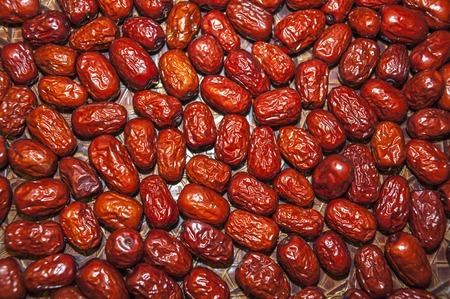 medium group of objects: dried red dates