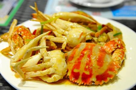 ginger crab Stock Photo