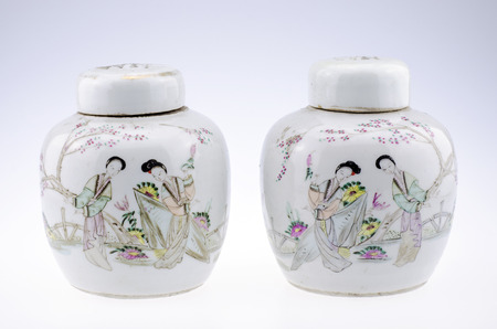 antiquarian: Porcelain jar