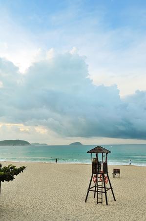 convective: Yalong Bay Beach
