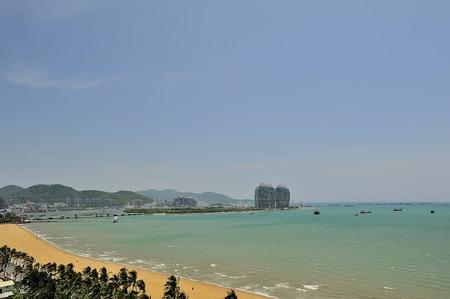 convective: Sanya Bay, Sanya, Hainan Island Stock Photo