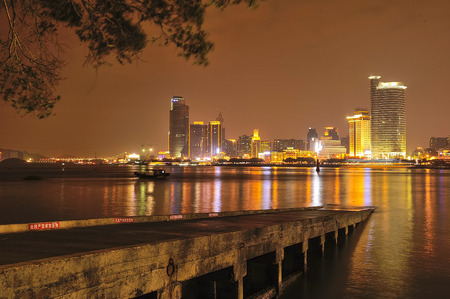 slipway: night view in Xiamen