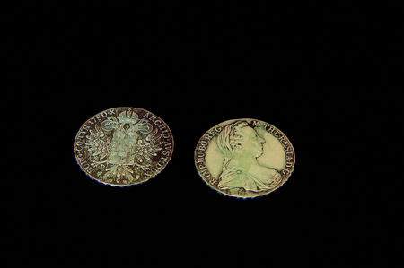 west of germany: 1780 Martine Rachel West Germany old silver coins