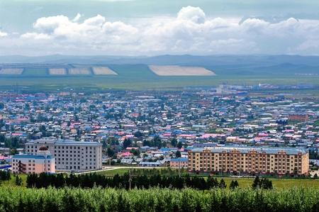 inner mongolia: Inner Mongolia hulunbeier Rab Dalin, China town