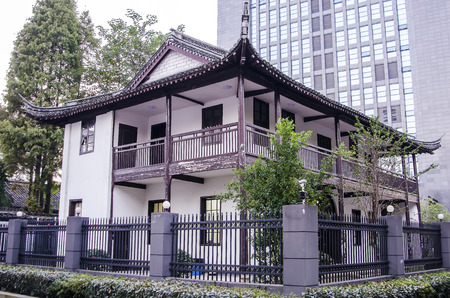 heritage protection: Shaoxing city, Zhejiang Province ancient ancient architecture library