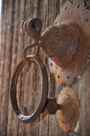 knocker: Rusty style Door Knocker