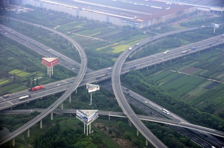 interoperability: Hangzhou Xiaoshan airport Expressway Interchange Bridge