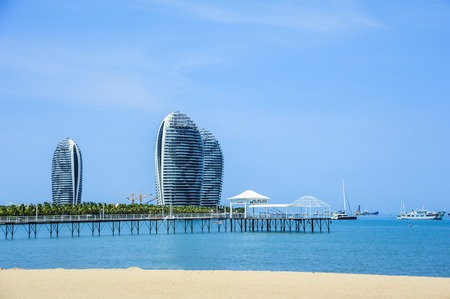 convective: Hainan Sanya Phoenix Island modern architecture Editorial