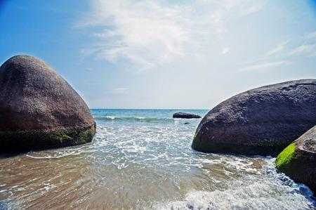 seawater: Coast reefs