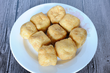 puffs: Bean curd puffs