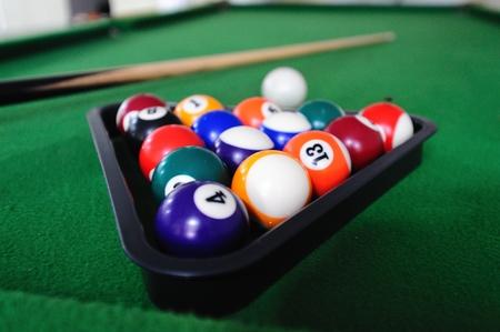 pool cues: Billiards games