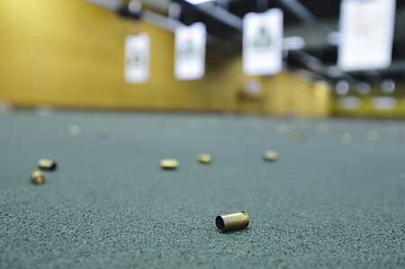 Indoor firing range feature