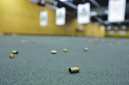 Indoor firing range feature