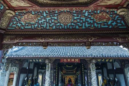 ancient architecture: Shun Wang Miao Temple beautiful sculpture