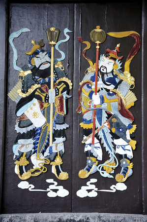 gods: Door gods Stock Photo