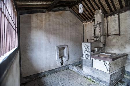 cocina vieja: cocina antigua jiangnan rural