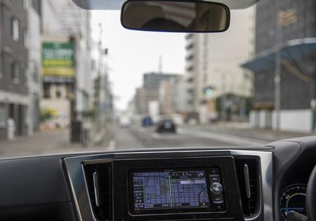 angle: Internal angle of automobile