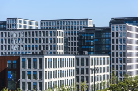 pioneering: Modern office buildings