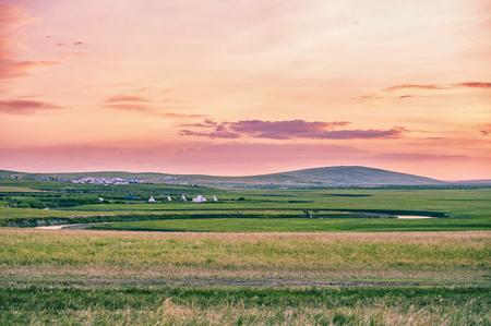 Prairie dusk Stock Photo - 78058302