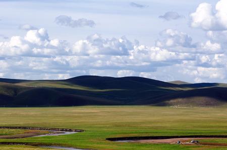 inner mongolia: inner mongolia grassland scenery