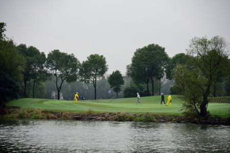 Lakeside Golf Course landscape view