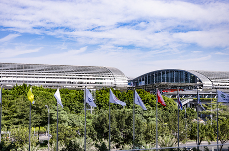 Guangzhou pazhou convention and exhibition center
