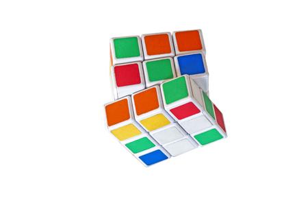 Six-color cube Editorial