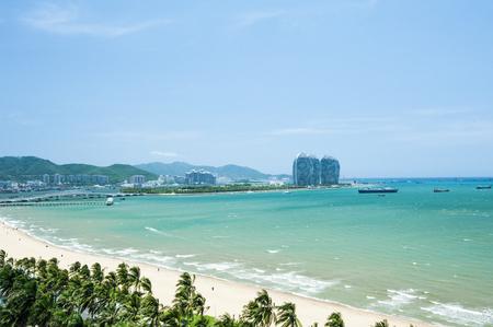 Waterfront scenery Stock Photo