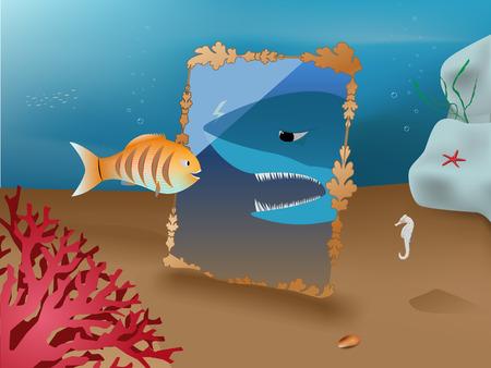 undersea: peces peque�os quieren ser un tibur�n