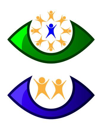 children care conceptual illustration Stock Vector - 7100209