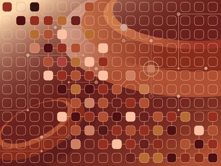 brownish: abstract brownish futuristic background Illustration