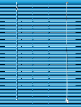 realistic illustration of venetian blinds Stock Vector - 9153306