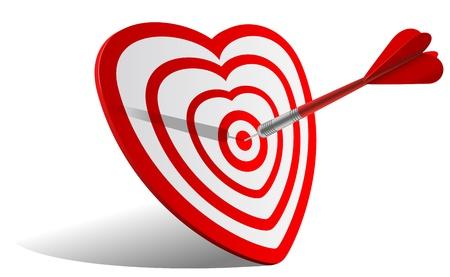vector concept valentine day illustration Illustration