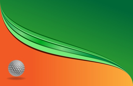vector golf background useful for banners,visit cards etc. Vector