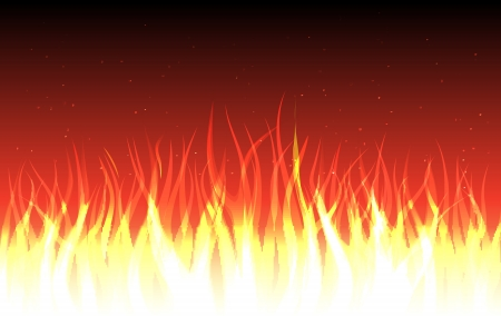 blends: vector abstract fire background, eps10 file, blends and transparency used Illustration