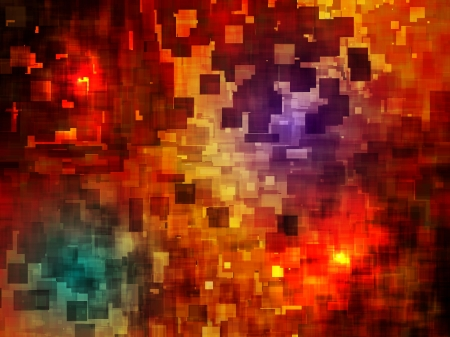 lava: vector abstract lava like background, eps 10 vector, transparency and blend mode used Illustration