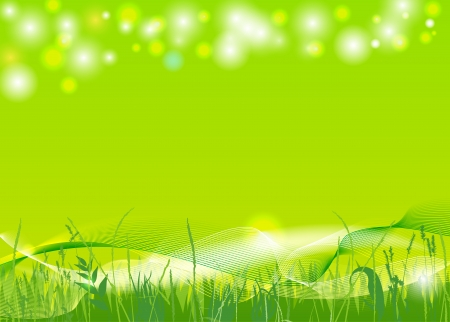 abstrakte Frühjahr Hintergrund Illustration
