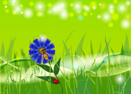 abstract spring background Stock Vector - 17794607