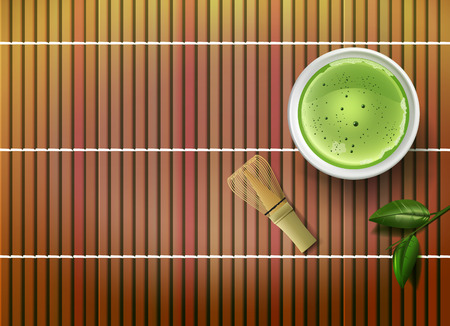 Vector Matcha Tea