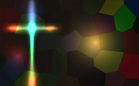 Vector Abstract Religious Background, Vector, Gradient Mesh and Transparency Used
