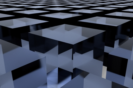 3D abstract background photo