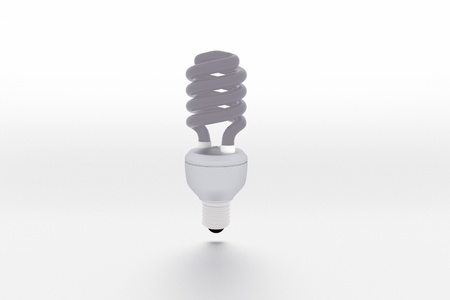 thrift: energy saving light bulb