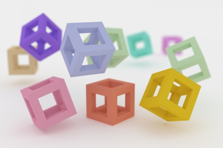 Some Bright Cubes In A Caotic Situation