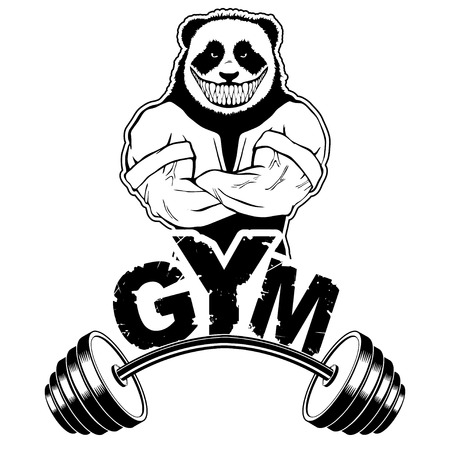 6842 Bodybuilder Barbell Cliparts Stock Vector And Royalty Free
