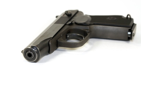 Russian pistol of Makarov 9mm. This is the replica, but looks as the original. photo