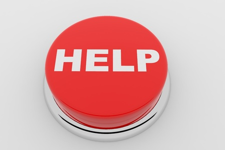 A red button with the word HELP on it Stock Photo - 9257851