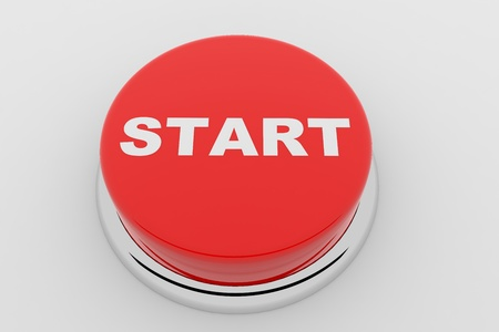 A red button with the word START on it Stock Photo - 9257859