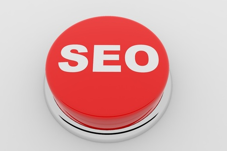 A red button with the word SEO on it Stock Photo - 9344111